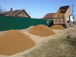 Доставка сыпучих материалов в Хабаровске.