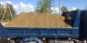 Песок любой фракции 3-5-7тн 2000р. Доставка
