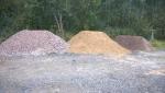 Песок, щебень, ПГС, отсев, сланец в Хабаровске